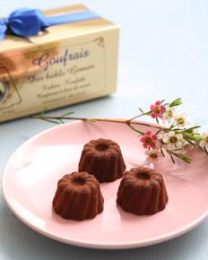 Goufrais Gugelhupfe aus Schokolade